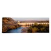 <strong>iCanvasArt</strong> Panoramic Nimbus Dam, Sacramento County, California Photographic Print on Canvas