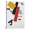 iCanvasArt 'Dynamic Suprematism' by Kazimir Malevich Graphic Art on Canvas