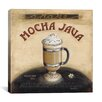 "iCanvas ""Mocha Java"" Canvas Wall Art by Lisa Audit"