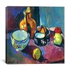 "iCanvasArt ""Dishes and Fruit (1901)"" Canvas Wall Art by Henri Matisse"