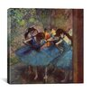 iCanvasArt 'Dancers' by Edgar Degas Painting Print on Canvas