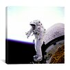 iCanvasArt Mission Specialist James H. Newman Canvas Wall Art