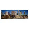 iCanvasArt Panoramic Minneapolis, Minnesota Photographic Print on Canvas