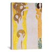 iCanvas 'Die Künste' by Gustav Klimt Painting Print on Canvas