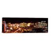 iCanvas Panoramic 'City Lit up at Night, Las Vegas, Nevada' Photographic Print on Canvas