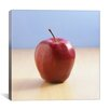 <strong>Red Apple on Wood Desk Photographic</strong> by iCanvasArt