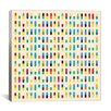 iCanvas Modern 10 Capsules Memorabilia Graphic Art on Canvas