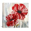 "iCanvas ""Red Poppies II"" Painting Print on Canvas"