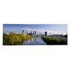 <strong>iCanvasArt</strong> Panoramic Schuylkill River, Philadelphia, Pennsylvania Photographic Print on Canvas