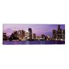 iCanvasArt Panoramic Detroit, Michigan Photographic Print on Canvas