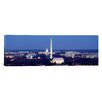 iCanvas Panoramic High Angle View of a City, Washington DC Photographic Print on Canvas