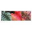 iCanvas Panoramic Diagonal Foliage Photographic Print on Canvas