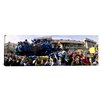 <strong>iCanvasArt</strong> Panoramic Mardi Gras Parade, New Orleans, Louisiana Photographic Print on Canvas