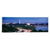 iCanvasArt Panoramic High Angle View of a Cityscape, Washington DC Photographic Print on Canvas