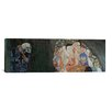 <strong>iCanvasArt</strong> 'Death and Life' by Gustav Klimt Painting Print on Canvas