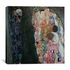 "iCanvas ""Death and Life"" Canvas Wall Art by Gustav Klimt"