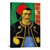 iCanvas 'Der Zuave (Halbfigur)' by Vincent van Gogh Painting Print on Canvas