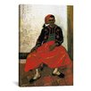 iCanvas 'Der Zuave, Sitzend' by Vincent van Gogh Painting Print on Canvas