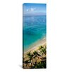 iCanvasArt Panoramic Waikiki Beach, Honolulu, Oahu, Hawaii Photographic Print on Canvas