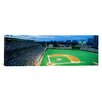 iCanvas Panoramic Spectators in a Stadium Wrigley Field, Chicago, Illinois Photographic Print on Canvas