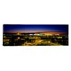 iCanvas Panoramic Buildings Lit Up at Dusk, Las Vegas, Nevada Photographic Print on Canvas