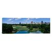 <strong>iCanvasArt</strong> Panoramic Great Lawn of Central Park, New York City Photographic Print on Canvas