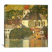 iCanvas 'Kirche in Unterach Am Attersee' by Gustav Klimt Painting Print on Canvas