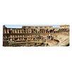 iCanvas Panoramic Amphitheater, Coliseum, Rome, Lazio, Italy Photographic Print on Canvas