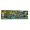 iCanvas Panoramic 'Irises' by Vincent Van Gogh Painting Print on Canvas