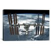 iCanvas Astronomy and Space International Space Station Photographic Print on Canvas