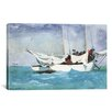 iCanvas 'Key West, Hauling Anchor 1903' by Winslow Homer Painting Print on Canvas