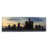iCanvas Panoramic 'Detroit Skyline Cityscape (Dusk)' Photographic Print on Canvas