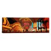 iCanvas Panoramic Fremont Street Experience Las Vegas, Nevada Photographic Print on Canvas