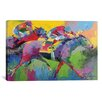 <strong>iCanvasArt</strong> 'Furlong' by Richard Wallich Painting Print on Canvas