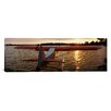 iCanvasArt Panoramic Sea Plane Lake Spenard, Anchorage, Alaska Photographic Print on Canvas