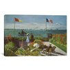 <strong>iCanvasArt</strong> 'Garden at Sainte-Adresse 1867' by Claude Monet Painting Print on Canvas