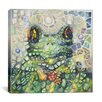 "iCanvas ""Froggy"" Canvas Wall Art by Charlsie Kelly"