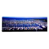 iCanvasArt Panoramic Ala Wai, Honolulu, Hawaii Photographic Print on Canvas