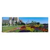 iCanvas Panoramic Welcome Garden at Grant Park, Chicago, Illinois Photographic Print on Canvas