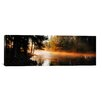 iCanvas Panoramic Fog over a River, Dal River, Sweden Photographic Print on Canvas