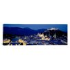 iCanvasArt Panoramic High Angle View of Buildings in a City, Salzburg, Austria Photographic Print on Canvas