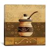 "<strong>iCanvasArt</strong> ""Coffee Pot"" Canvas Wall Art by Pablo Esteban"