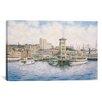 iCanvas 'Coleman Docks, California, 1911' by Stanton Manolakas Painting Print on Canvas