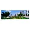 iCanvas Panoramic Skyscrapers in a City Scioto River, Columbus, Ohio Photographic Print on Canvas