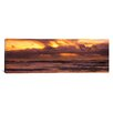 iCanvas Panoramic Clouds over the Pacific Ocean, California Photographic Print on Canvas