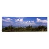 <strong>iCanvasArt</strong> Panoramic Tampa Bay, Gulf of Mexico, Anna Maria Island, Florida Photographic Print on Canvas