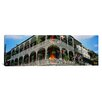 <strong>iCanvasArt</strong> Panoramic French Quarter New Orleans Los Angeles Photographic Print on Canvas