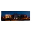 <strong>iCanvasArt</strong> Panoramic Football Stadium Lit up at Night, Old Trafford, Greater Manchester, England Photographic Print on Canvas