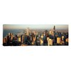 iCanvas Panoramic High Angle View of Buildings in a City, Chicago, Illinois Photographic Print on Canvas