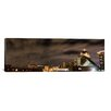 iCanvas Panoramic Greensboro Skyline Cityscape (Night) Photographic Print on Canvas